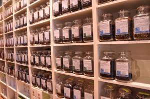 Loose-leaf tea at The Tea Haus.