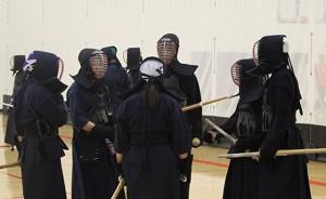 Kendo instruction