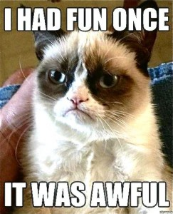 The meme that launched Grumpy Cat's celebrity career (Grumpycats.com).