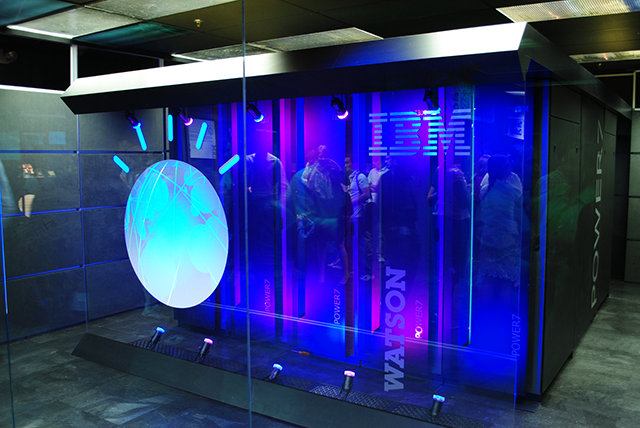IBM's Watson is one of the most powerful AI's to date. It can process 500 gigabytes - roughly a million books - per second. (photo courtesy of Wikimedia Commons)