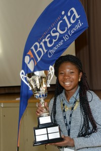 Take the Lead 2013 Winner Abijah Nwakanma. Courtesy of Brescia University College.