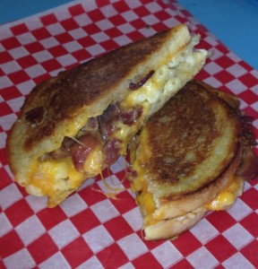 A grilled chees from Goodah Gastro.  Photo courtesy of Goodah Gastro.
