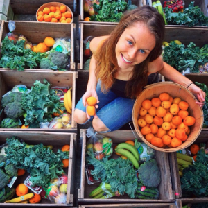 Abby Hopson is a co-founder of the Food Box Project. Photo courtesy of Abby Hopson.