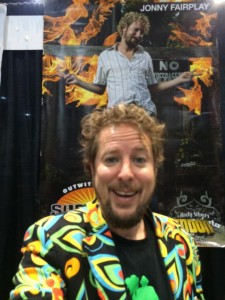 Jonny Fairplay wanted to be the bad guy on his season of Survivor, and he played up his personality to do so.  Photo courtesy of Jonny Fairplay