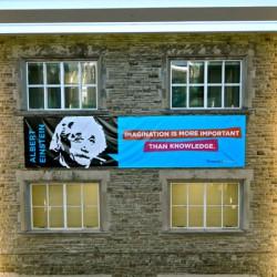 Photo of Einstein at Western University