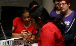 Pearl Hacks, which took place March 21-22, was a hackathon at University of North Carolina exclusively for women. <br /> Photo courtesy of Major League Hacking.