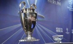 Champions League cup <br />Courtesy of uefa.com