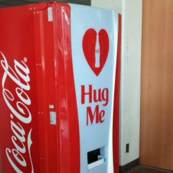 The interactive coke machine at the UCC. <br /> Photo courtesy of Gwynne Ng  <br />