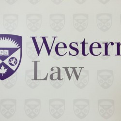 The Access to Justice Symposium at Western University's Faculty of Law Focused on the issue of self-representing litigants. <br />Photo by Amy Legate-Wolfe<br />