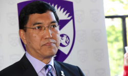 Western President Amit Chakma will speak at today's Senate decision of whether to hold a vote of non-confidence. <br />Photo courtesy of Western News<br />