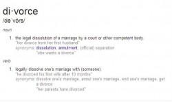 DivorceDefinition