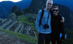 Adam Dolman and Alex Kozelko hiked around Macchu Picchu when they went to Peru.