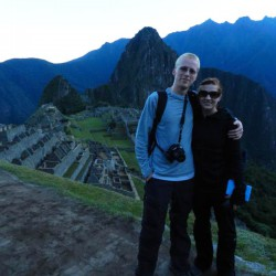 Adam Dolman and Alex Kozelko hiked around Macchu Picchu when they went to Peru.