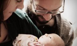 Mylon Ollila with his son