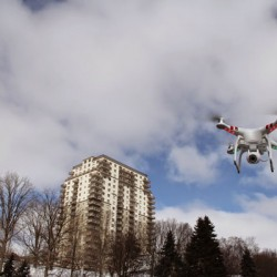 Using drones for businesses could be facing some changes. <br /> Photo courtesy of Amy Legate-Wolfe<br />