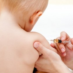 The anti-vaccination movement is making scenes like this less common.