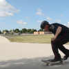 London police officer on a skateboard